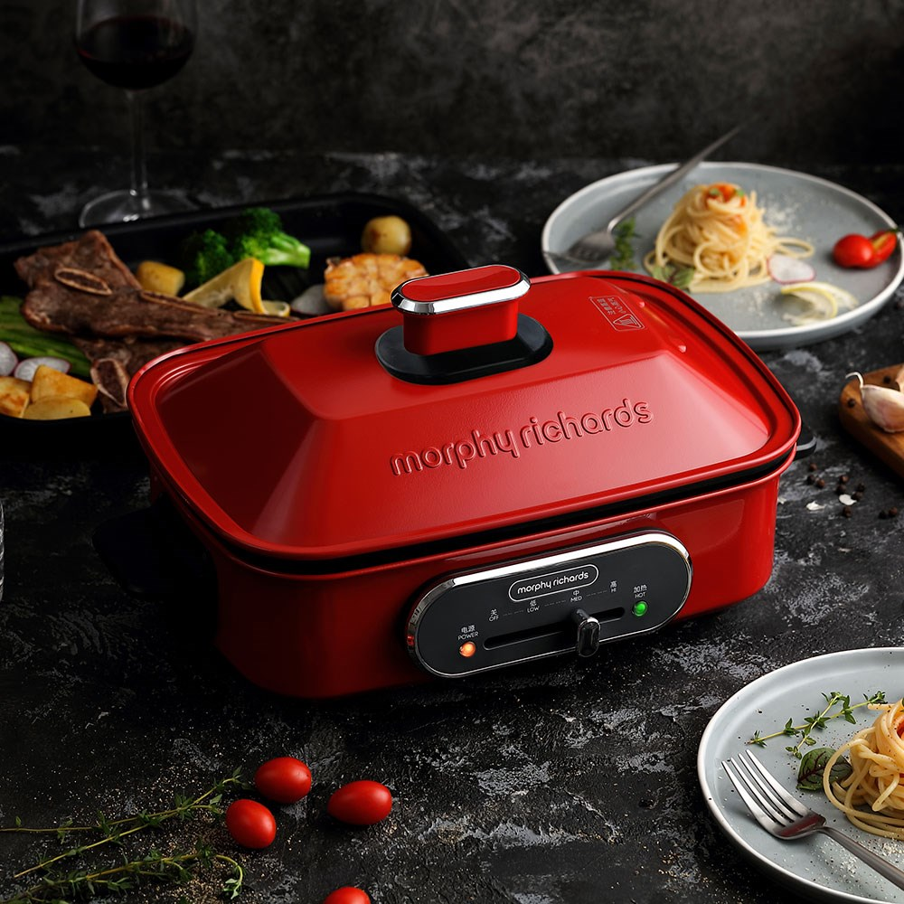 Morphy Richards MultiPot Red