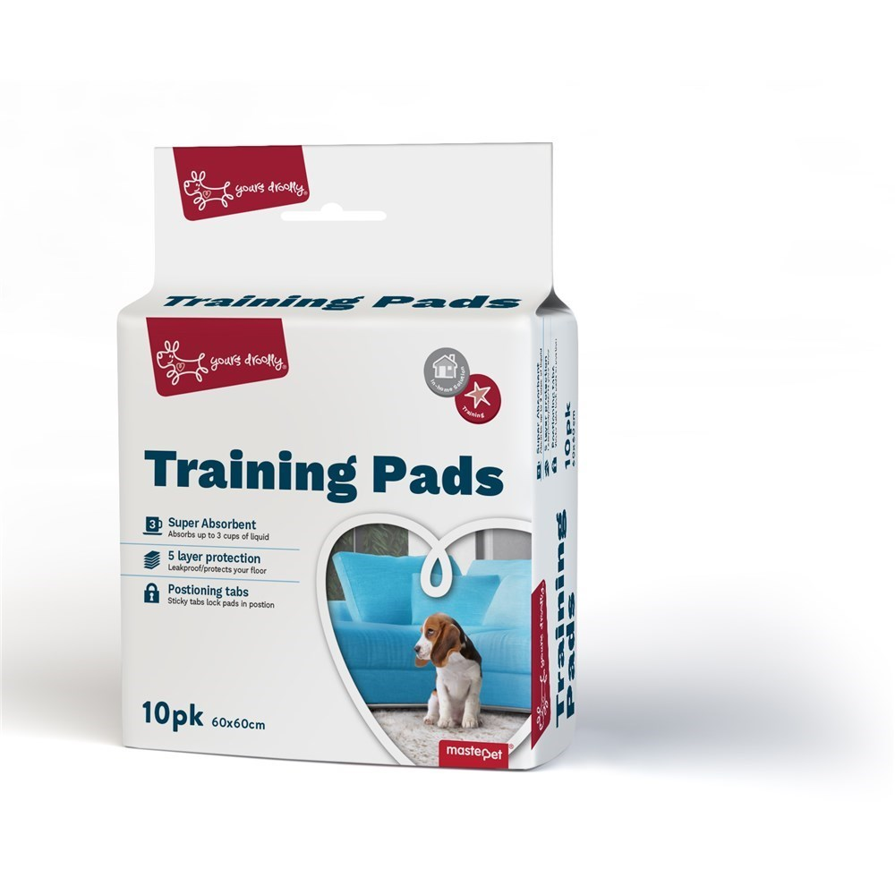 Yours Droolly Dog Training Pads 10 Pack