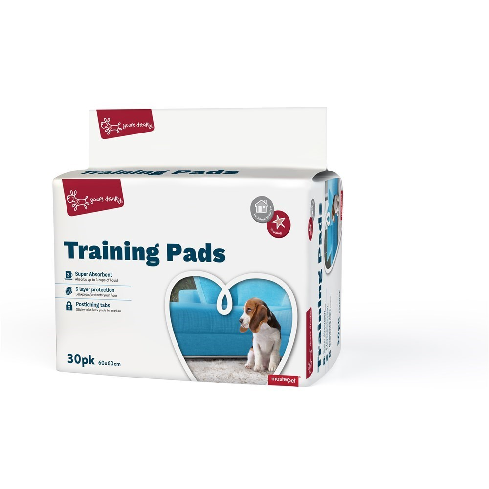 Yours Droolly Dog Training Pads 30 Pack