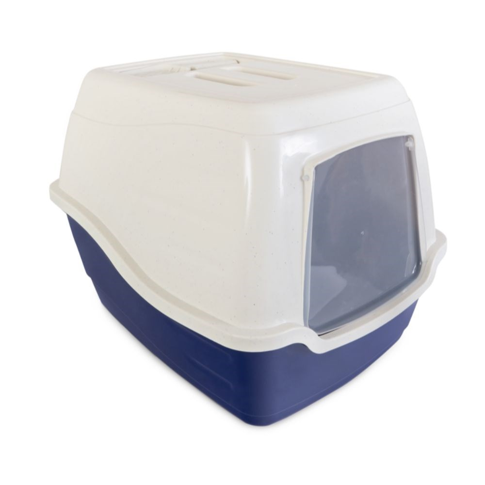 Trouble & Trix Hooded Cat Litter Tray with Scoop