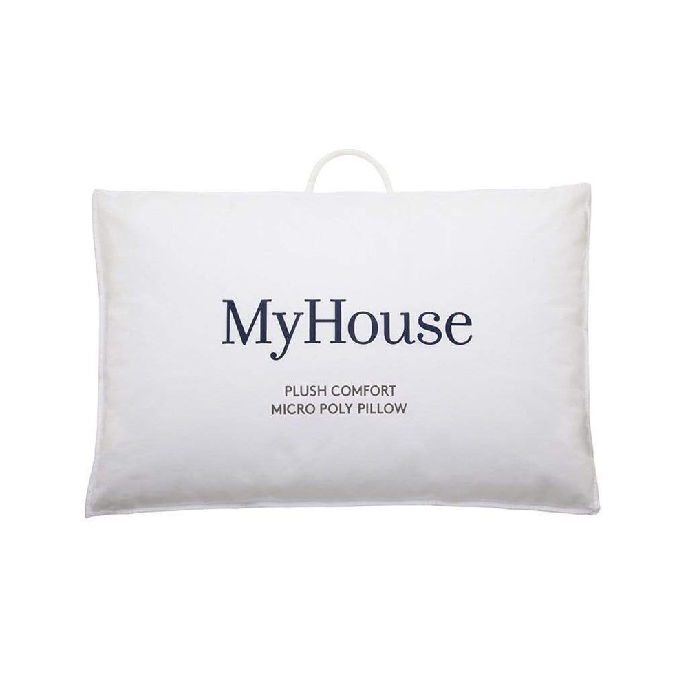 MyHouse Plush Comfort Micropoly Blend Pillow