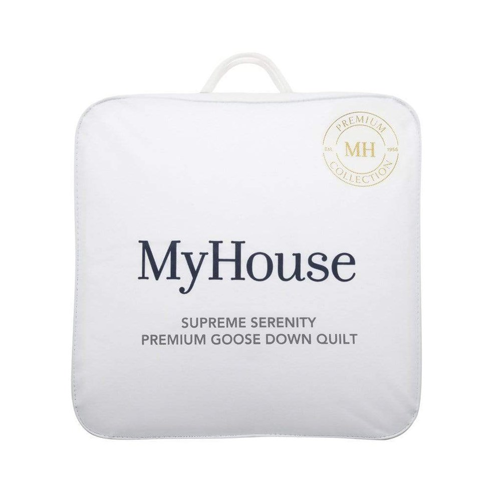 MyHouse Supreme Serenity Single Bed Down Quilt White