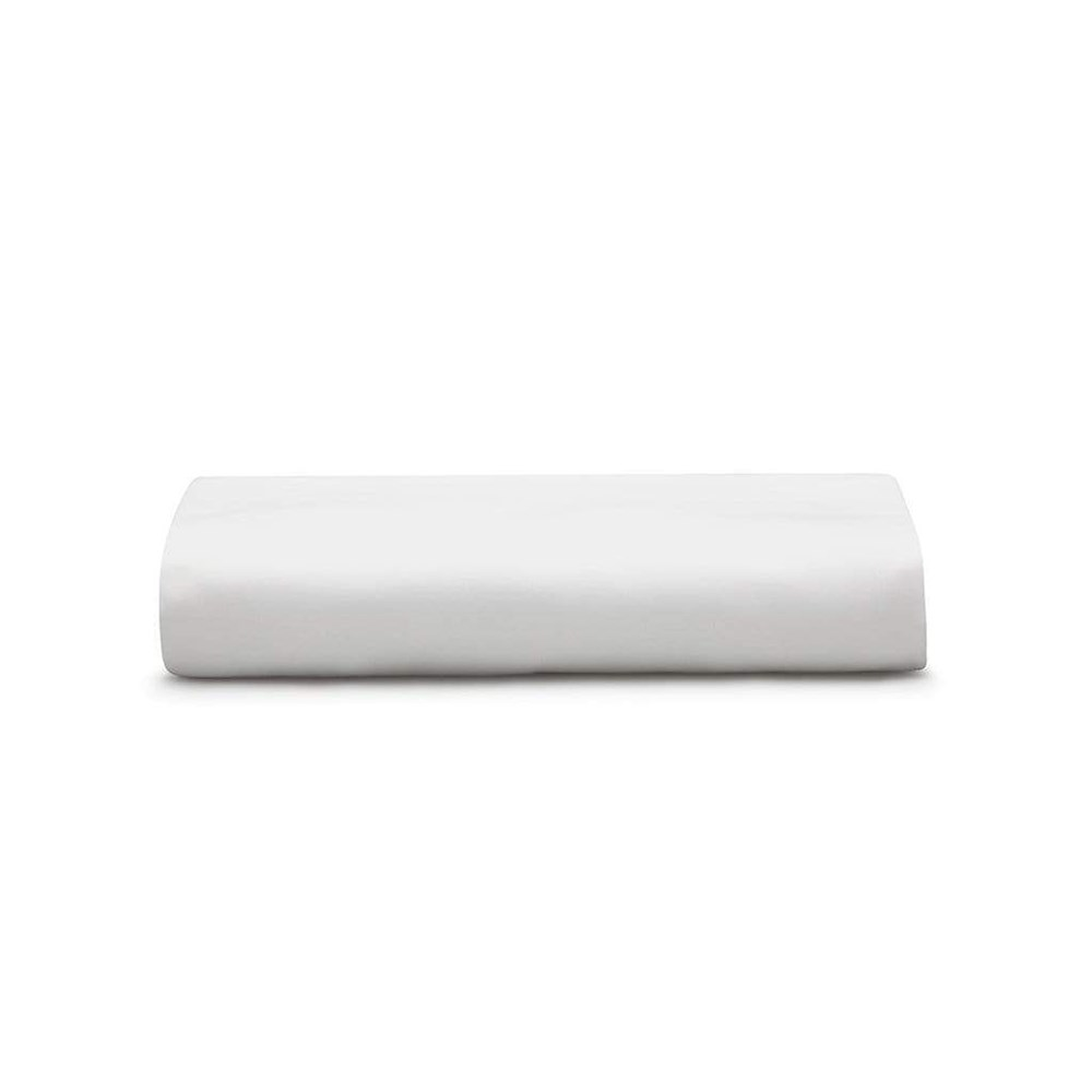 MyHouse Ashton Fitted Sheet Queen Bed White