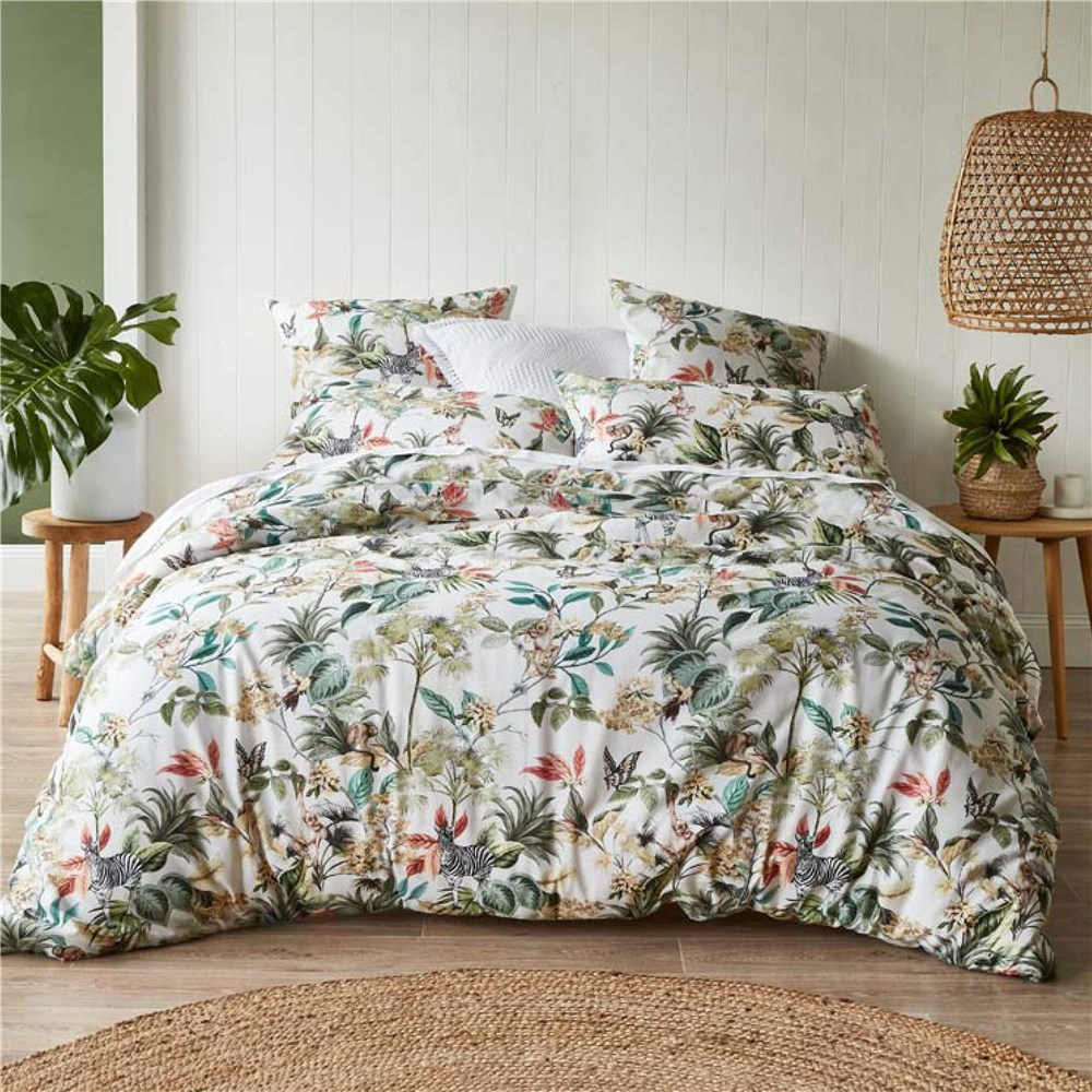 MyHouse Tahiti Quilt Cover Set Double