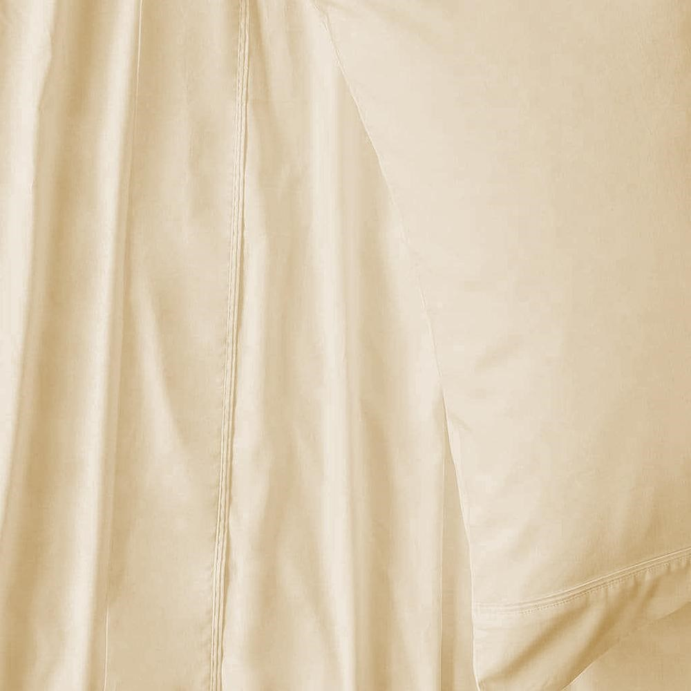 MyHouse Ashton Sheet Set Queen Cream