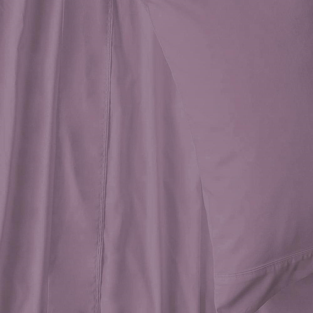 MyHouse Ashton Sheet Set King Eggplant