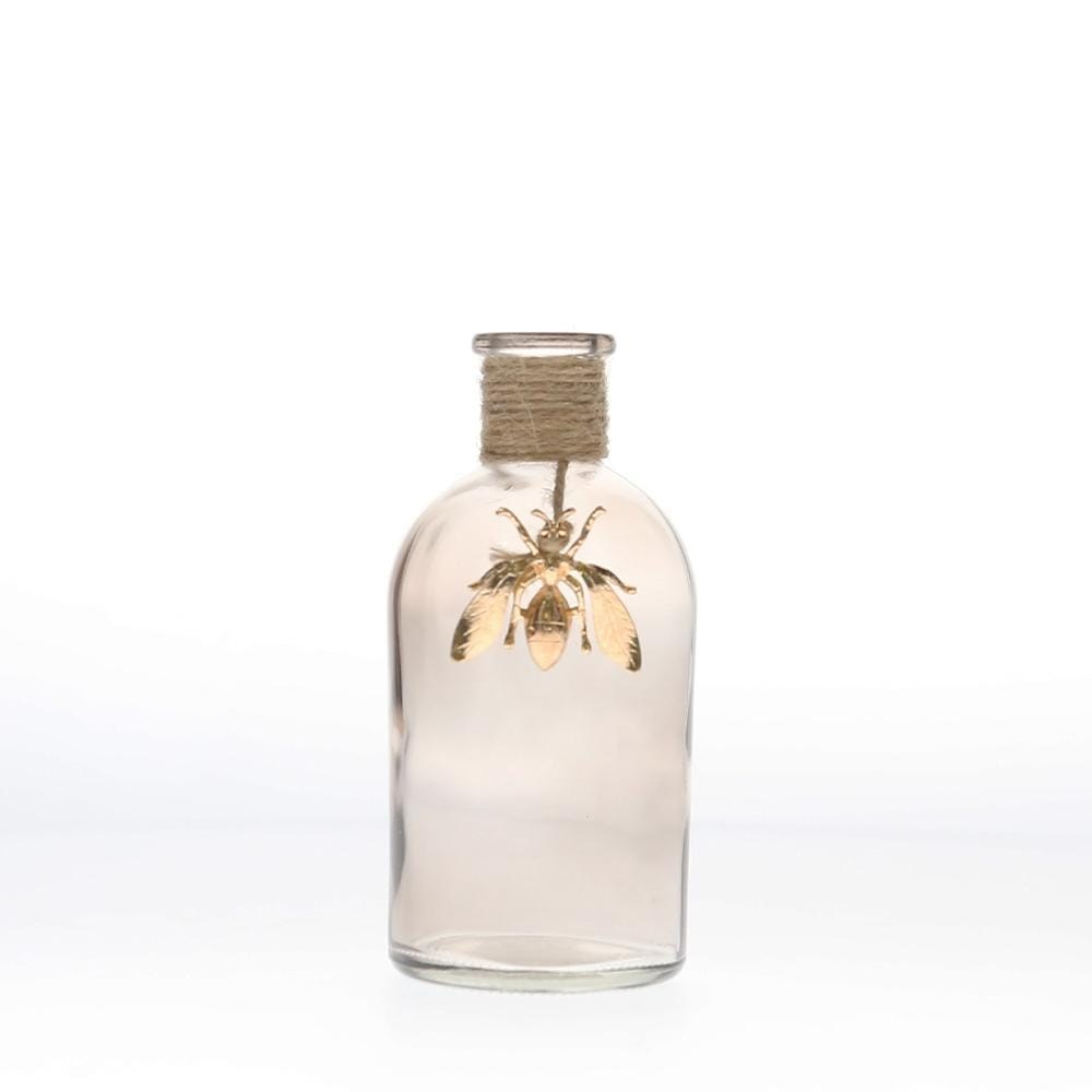 MyHouse Glass Vase Bee Clear