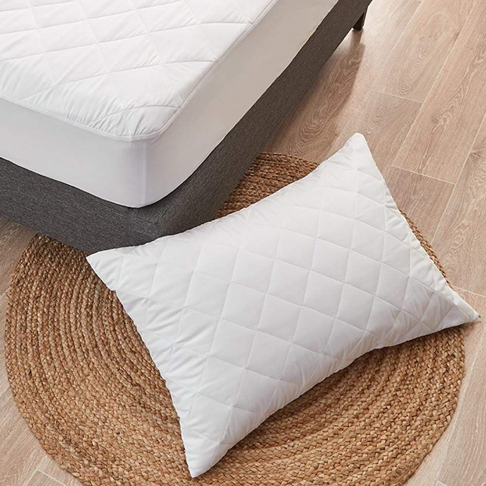 MyHouse Ultimate Guard Quilted Mattress Protector Double