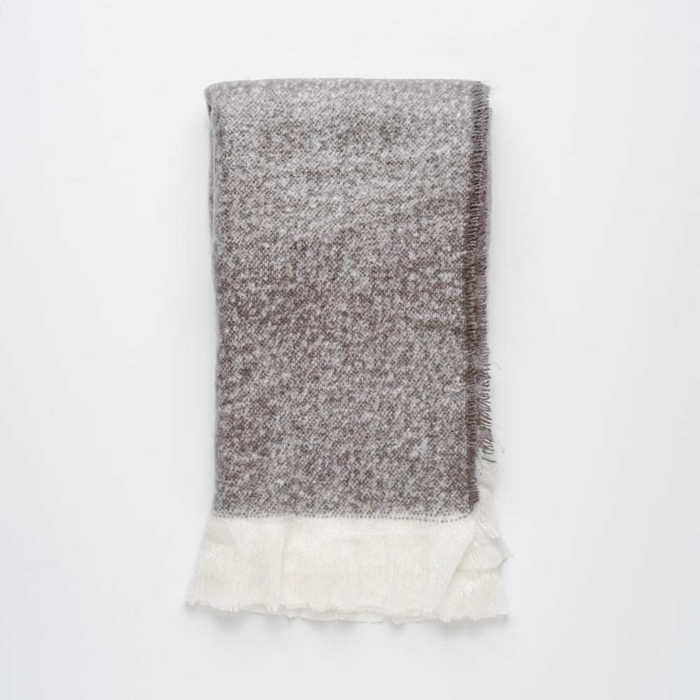 MyHouse Natural Living Throw Graphite