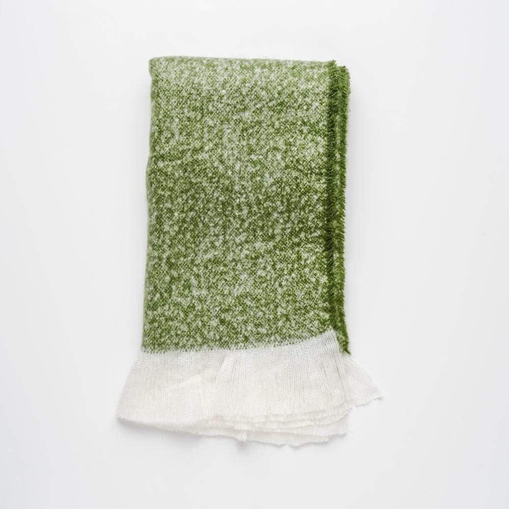 MyHouse Natural Living Throw Moss