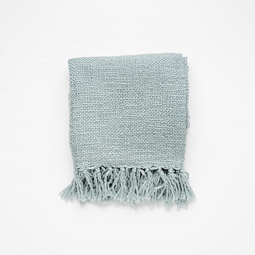 MyHouse Home Retreat Knitted Throw Sage