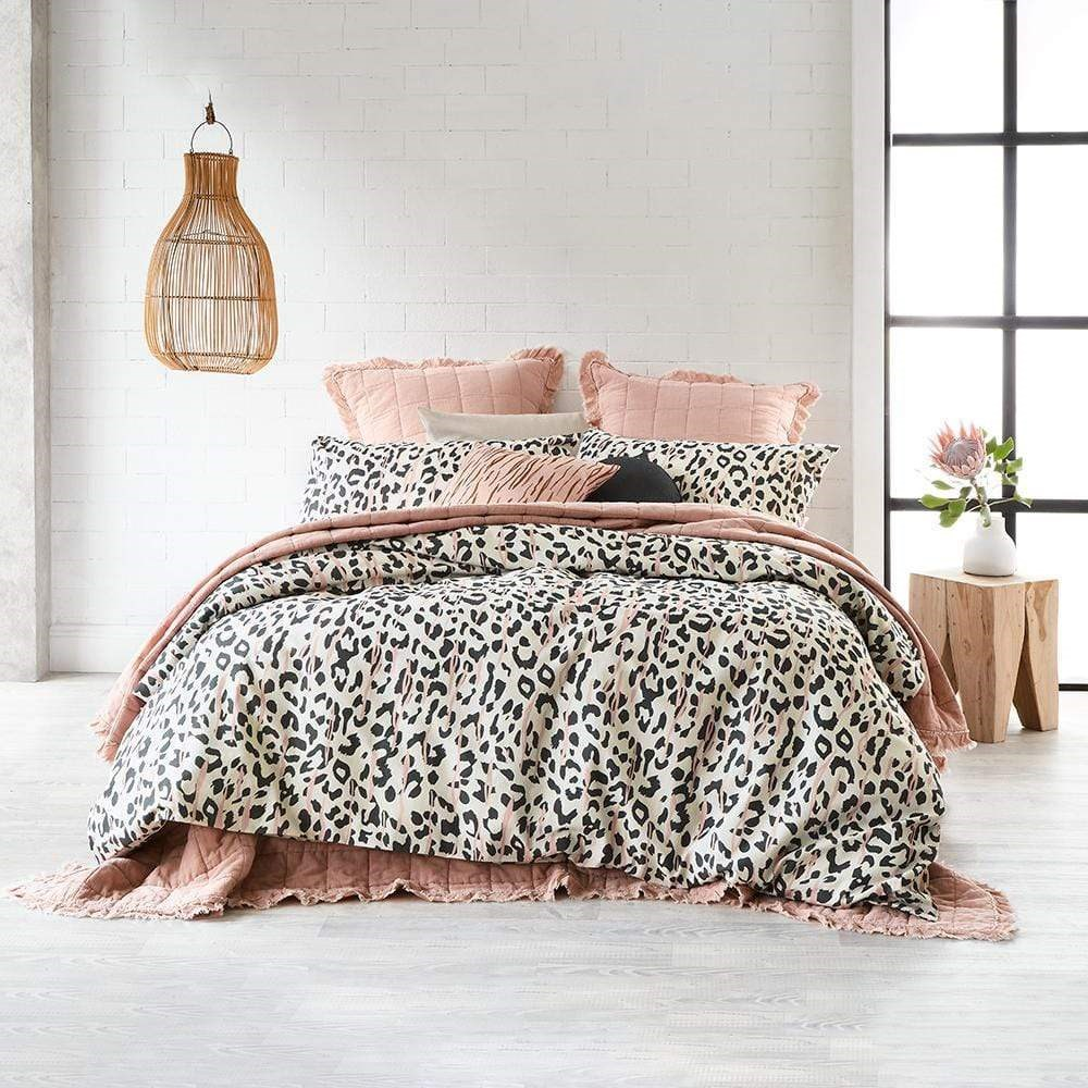 Alex Liddy Wild Print Quilt Cover King