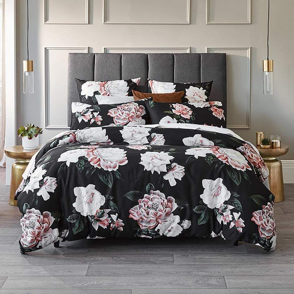 MyHouse Quinn Quilt Cover Set King