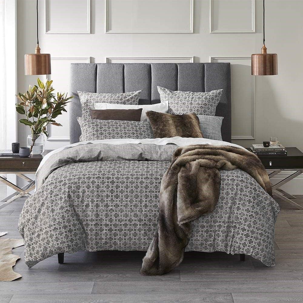 MyHouse Piper Quilt Cover Set King Single