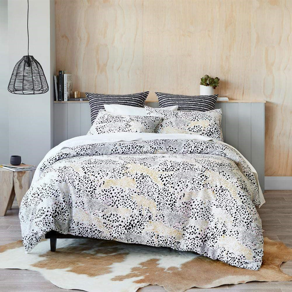 MyHouse Xenia Quilt Cover Set King