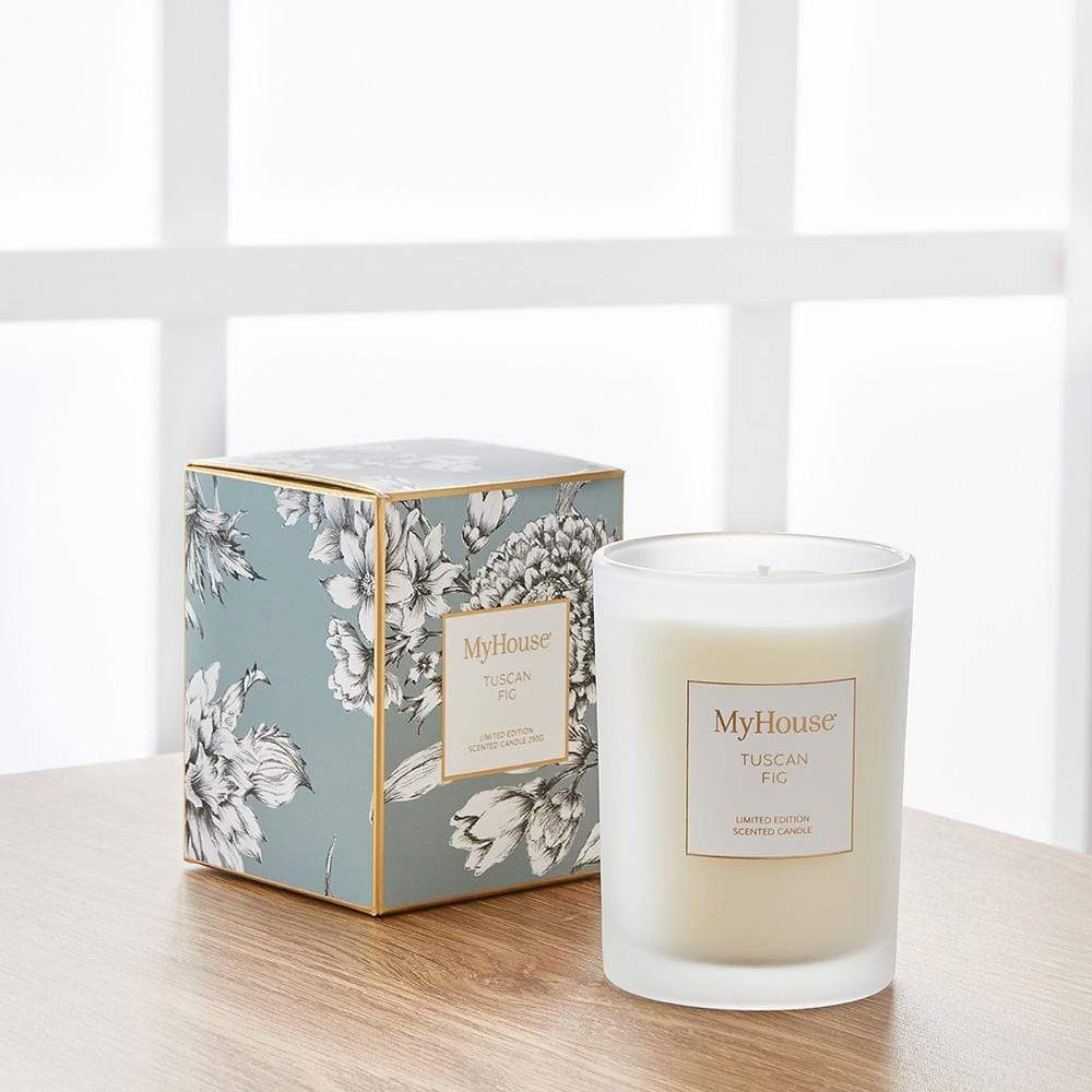 MyHouse Lucia Tuscan Fig Scented Candle