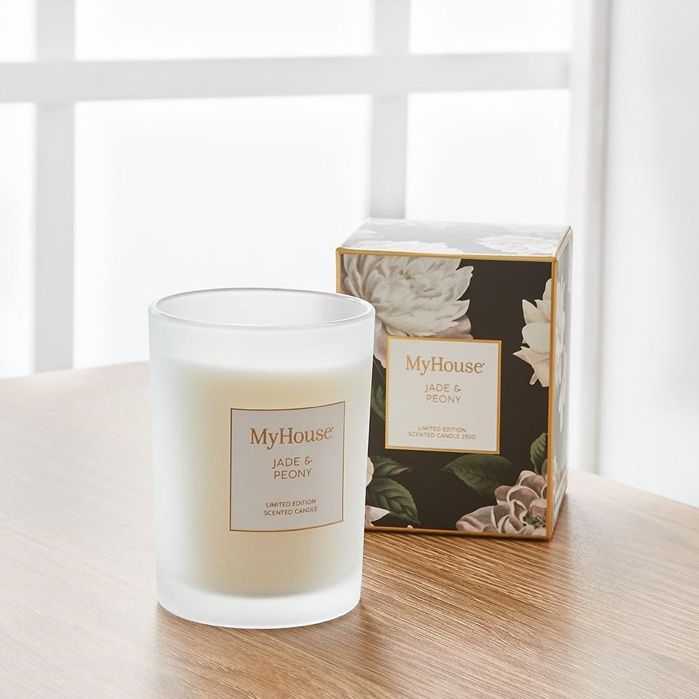 MyHouse Quinn Jade & Peony Scented Candle