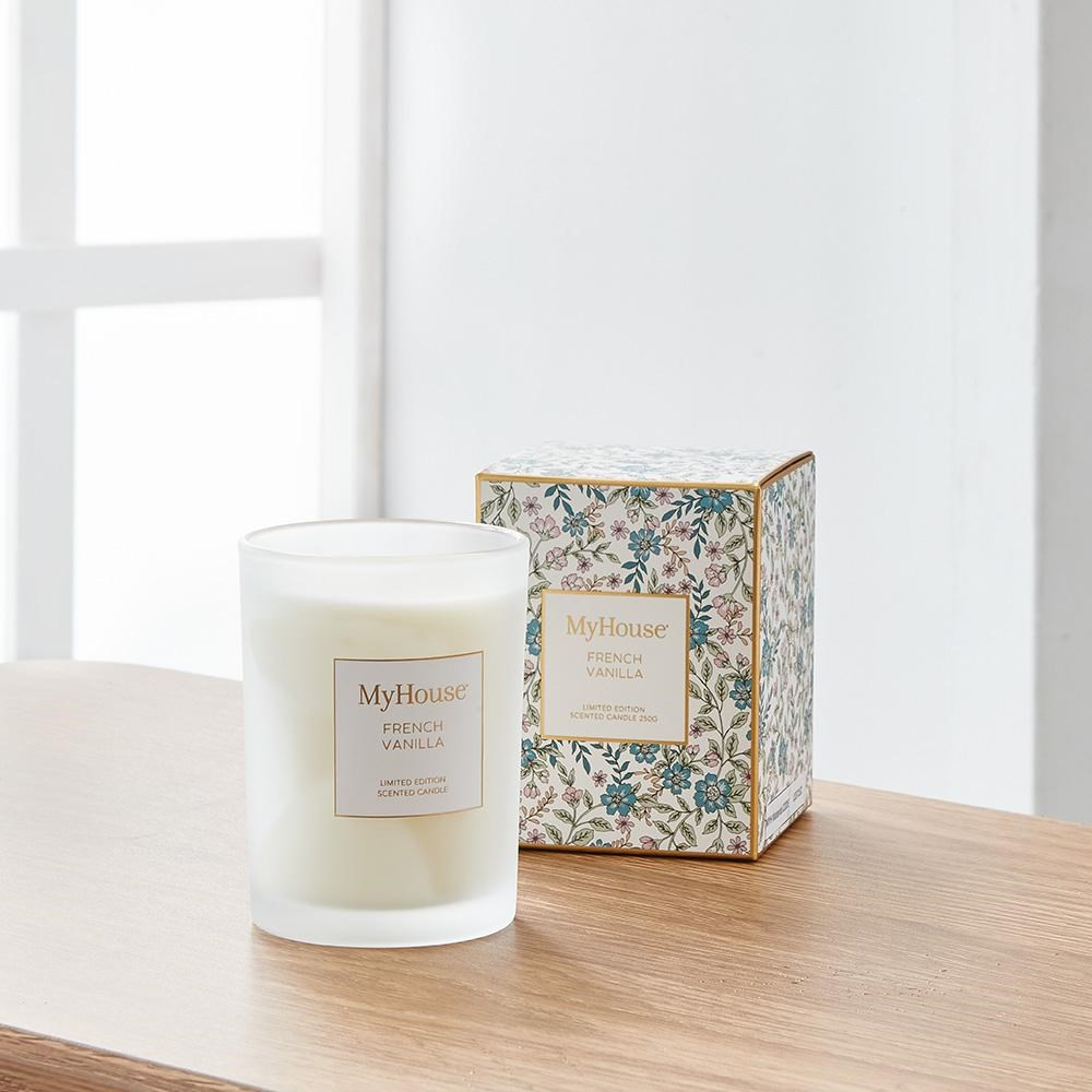 MyHouse Libby French Vanilla Scented Candle