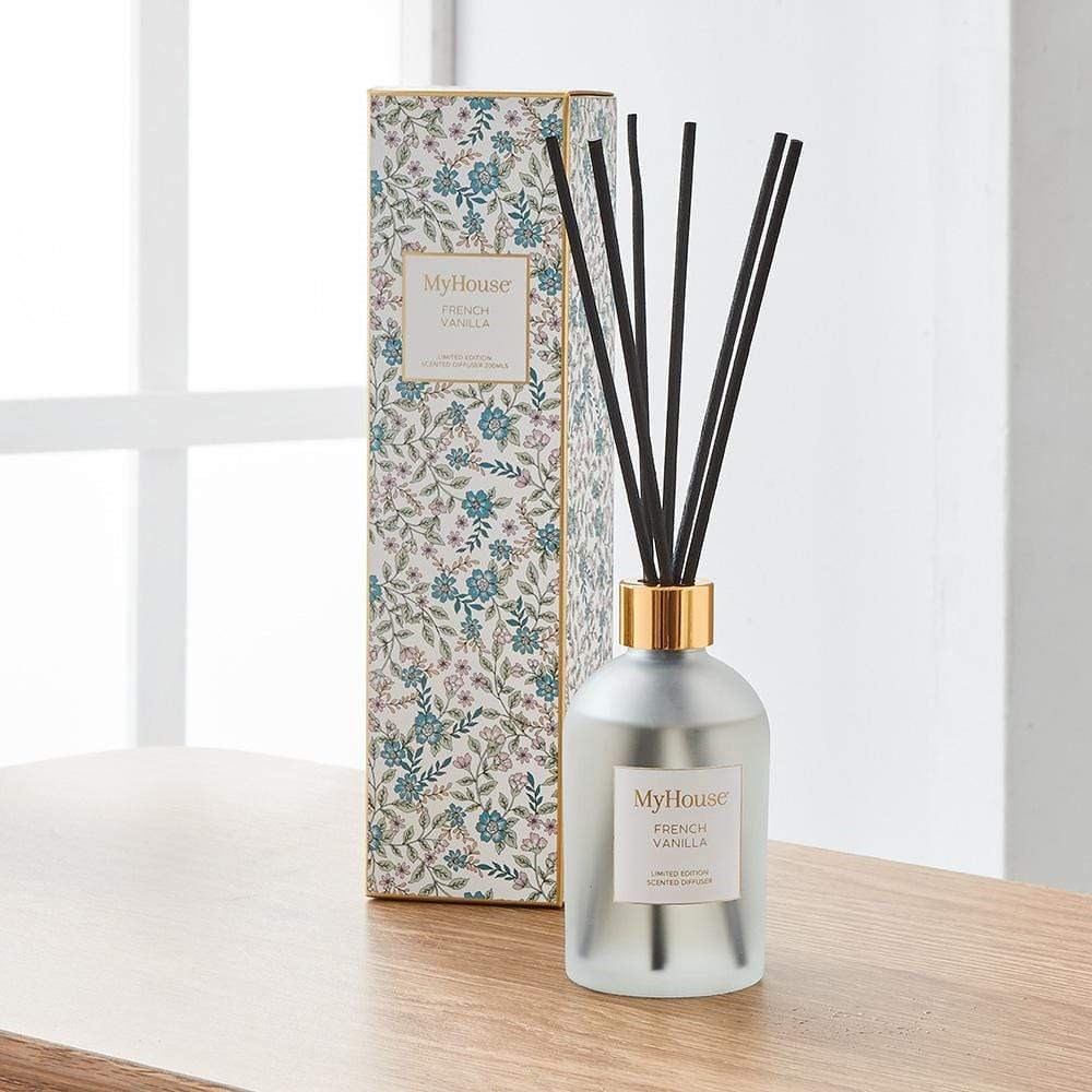 MyHouse Libby French Vanilla Reed Diffuser