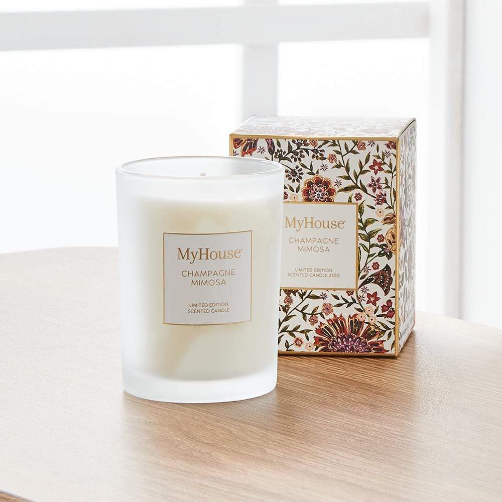 MyHouse Wilder Champagne Mimosa Scented Candle