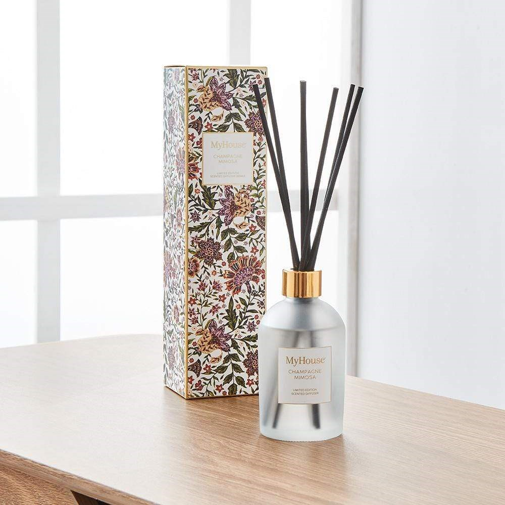 MyHouse Wilder Champagne Mimosa Reed Diffuser
