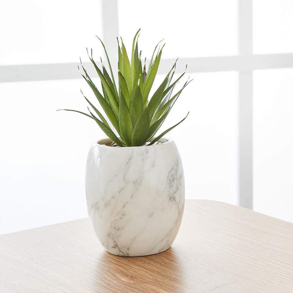 MyHouse Potted Faux Grass Plant