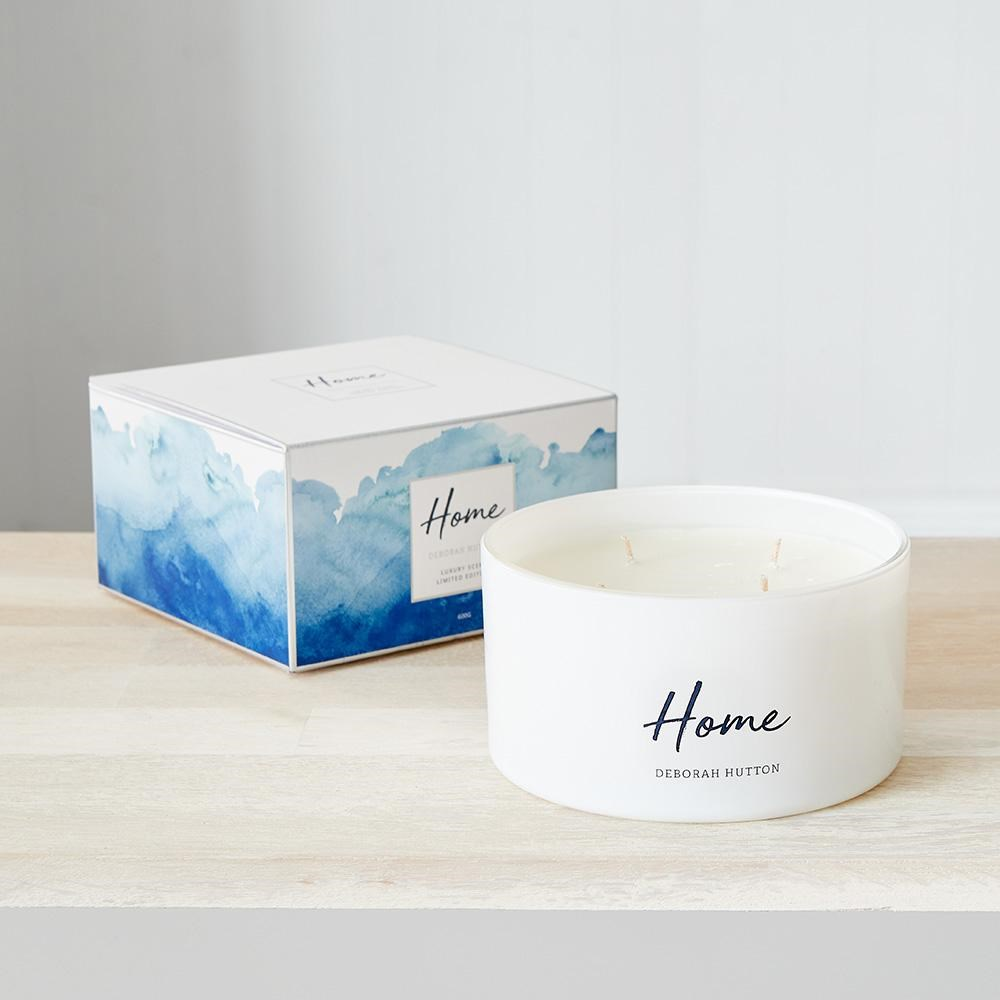 Deborah Hutton Large 4 Wick Scented Candle