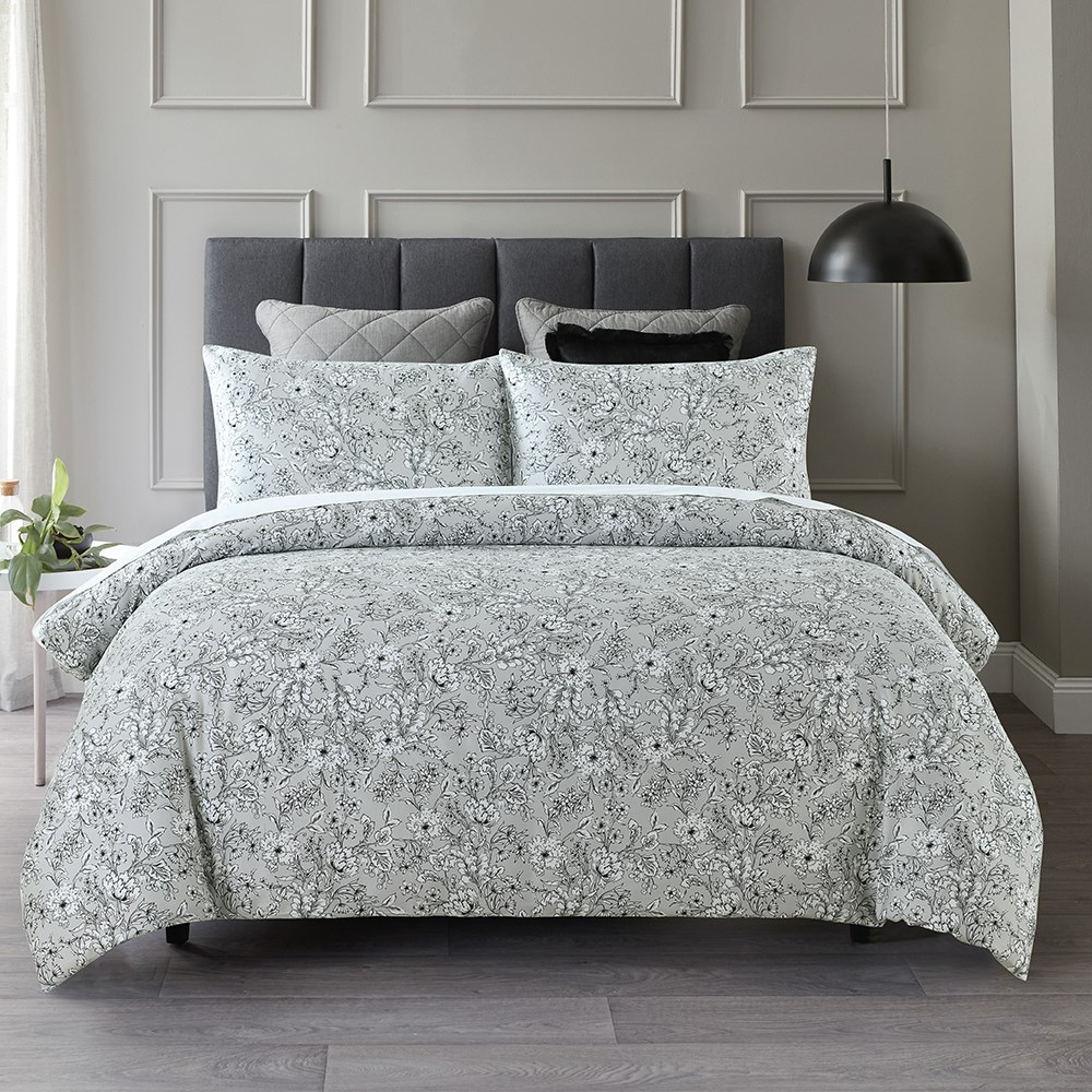MyHouse Sawyer Quilt Cover Set Double