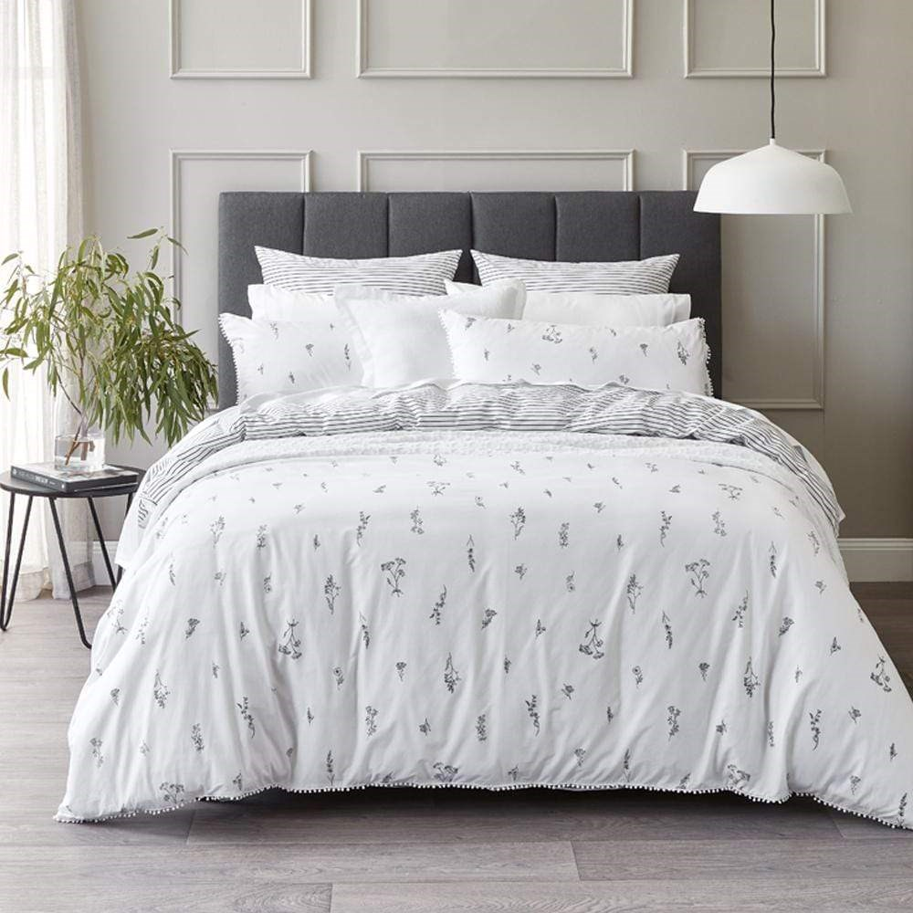 MyHouse Freya Quilt Cover Set Double