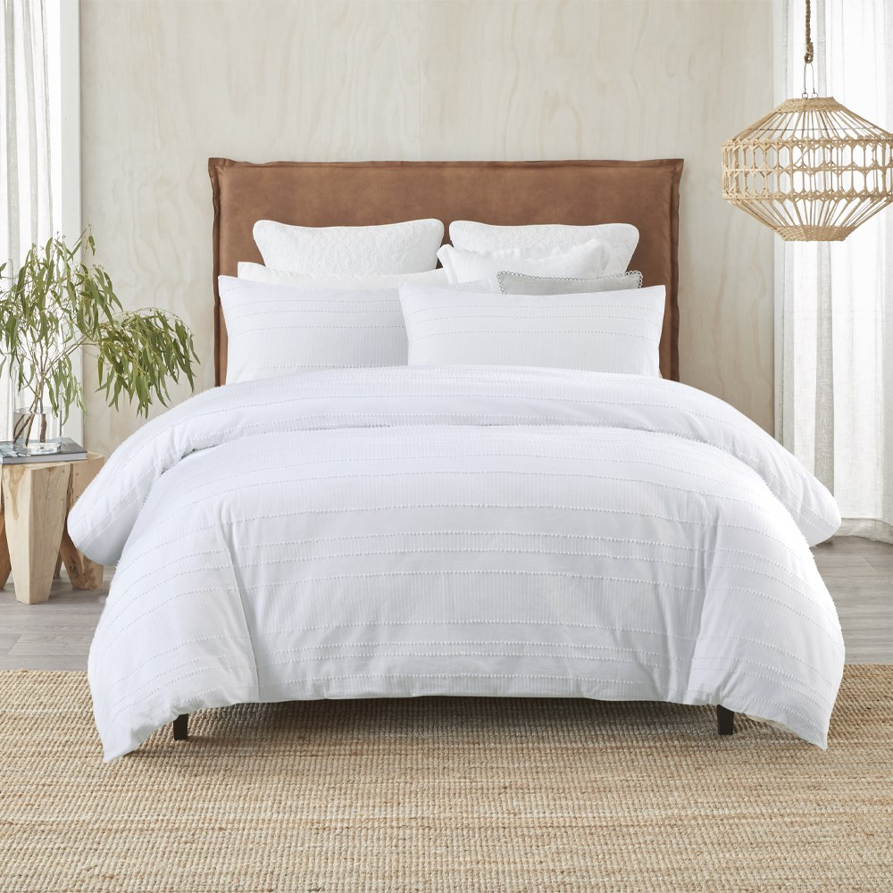 MyHouse Juno Quilt Cover Set Super King
