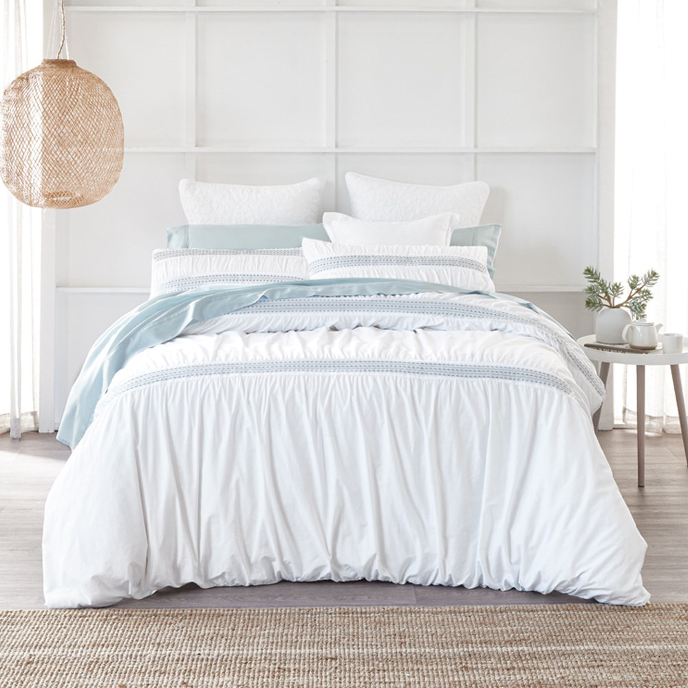 MyHouse Livia Quilt Cover Set King