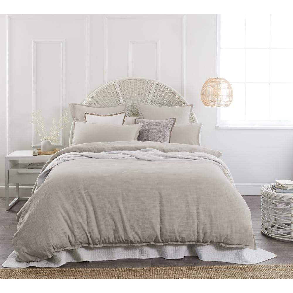 Home Beautiful Foundations Quilt Cover Set Queen Petal
