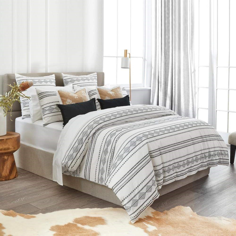 Home Beautiful Adley Quilt Cover Set Super King