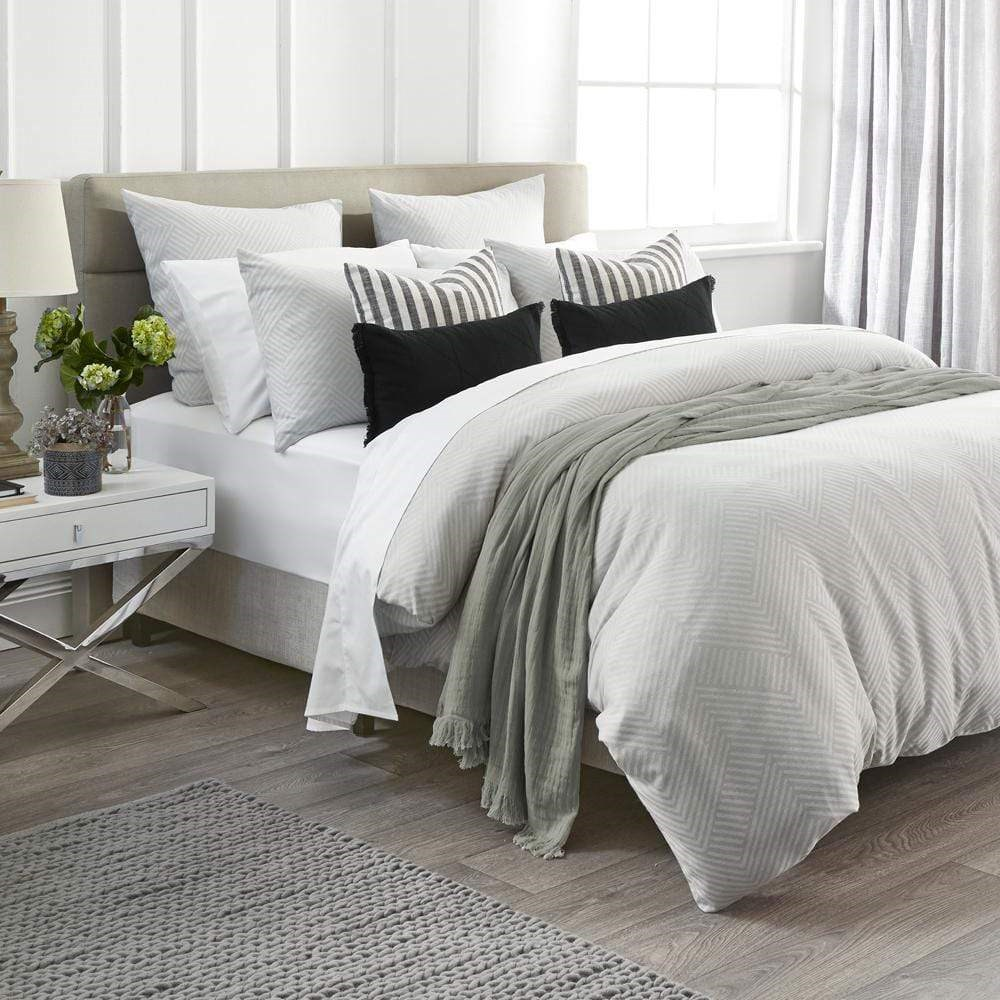 Home Beautiful Sloane Quilt Cover Set Super King