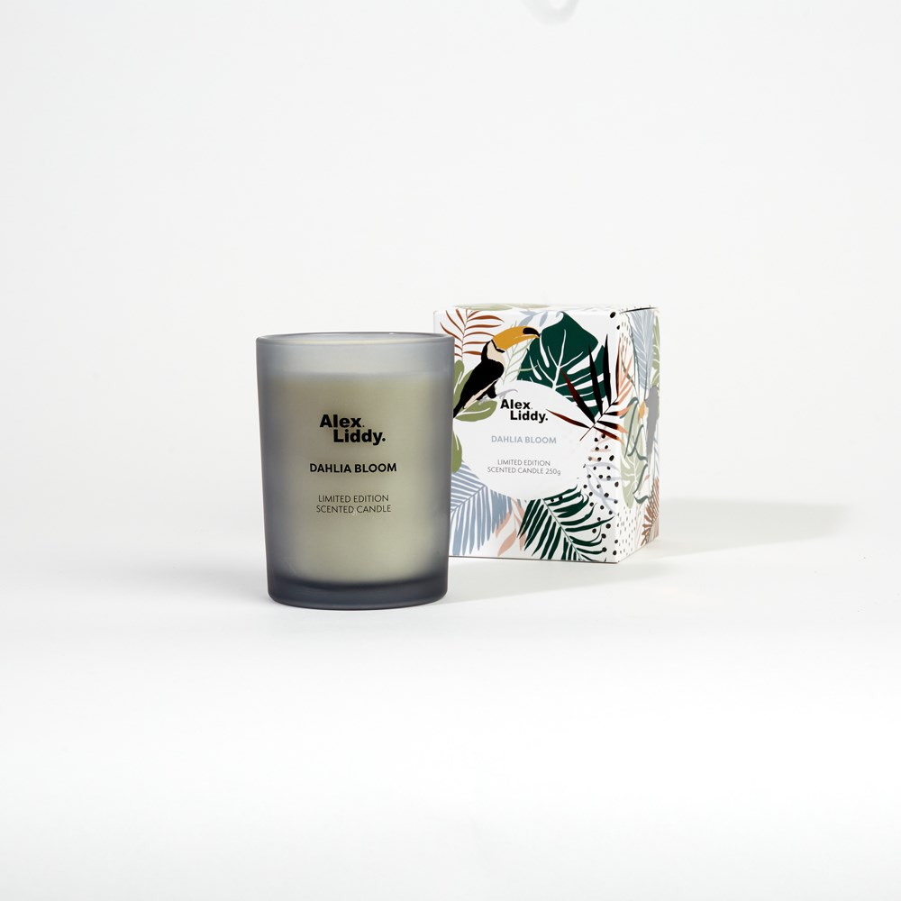 Alex Liddy Dahlia Bloom Large Scented Candle