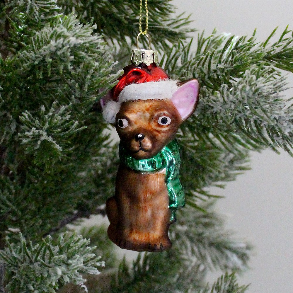 MyHouse Pup Christmas Ornament