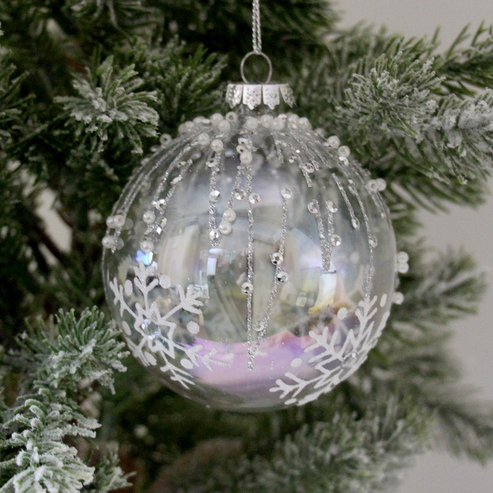 Home Beautiful Crystal Glass Bauble