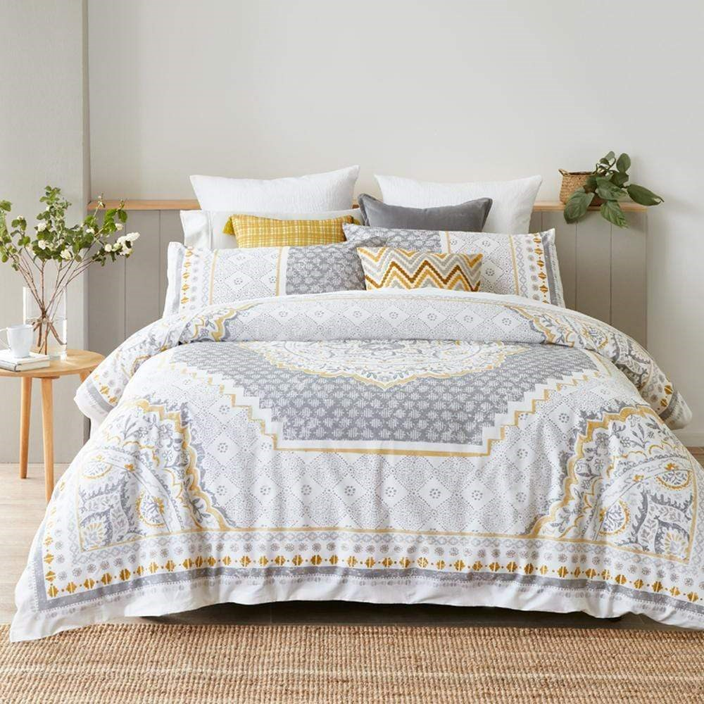 MyHouse Mandala Quilt Cover Set Queen