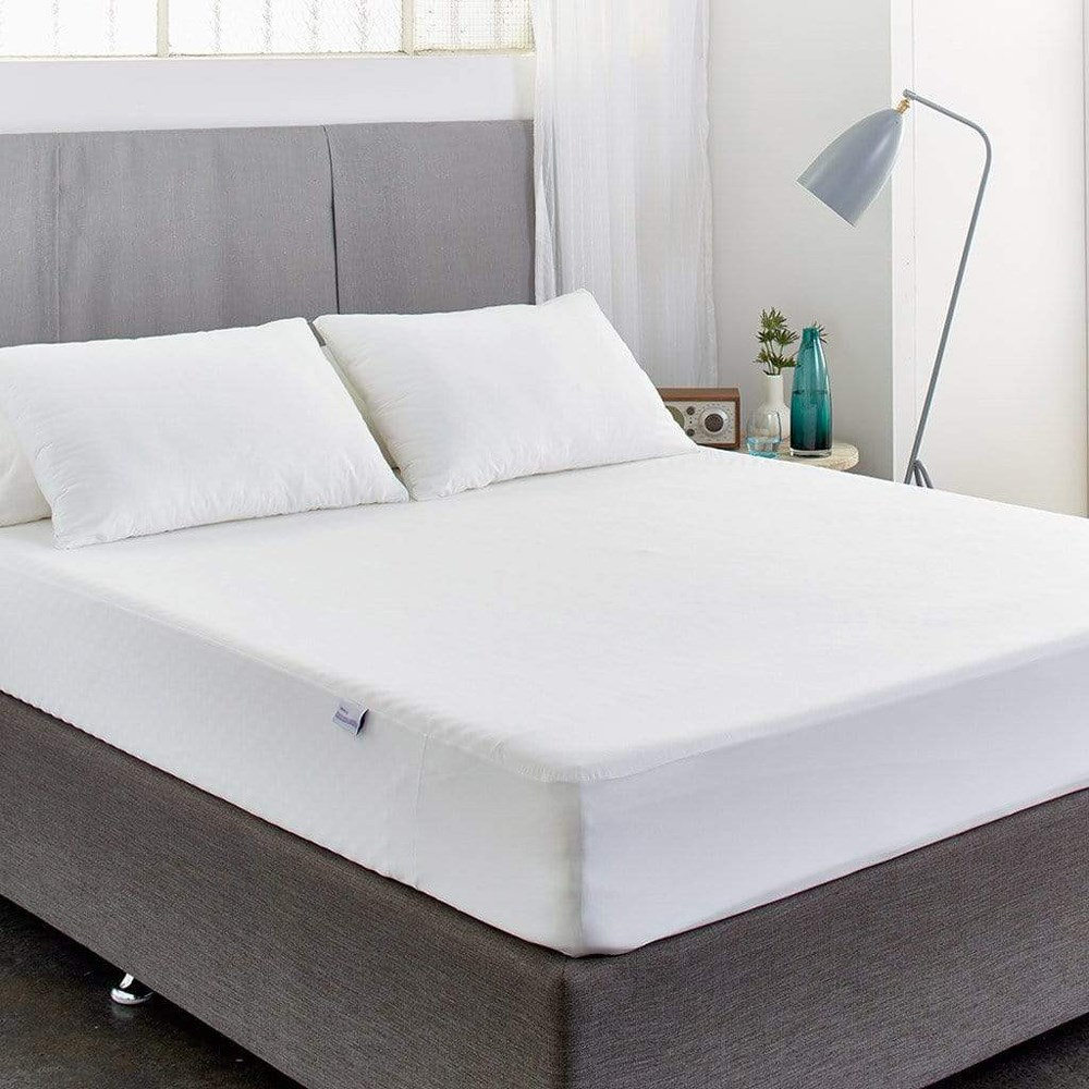 MyHouse Protect-A-Bed Bamboo Jersey Cotton Single Bed Mattress Protector