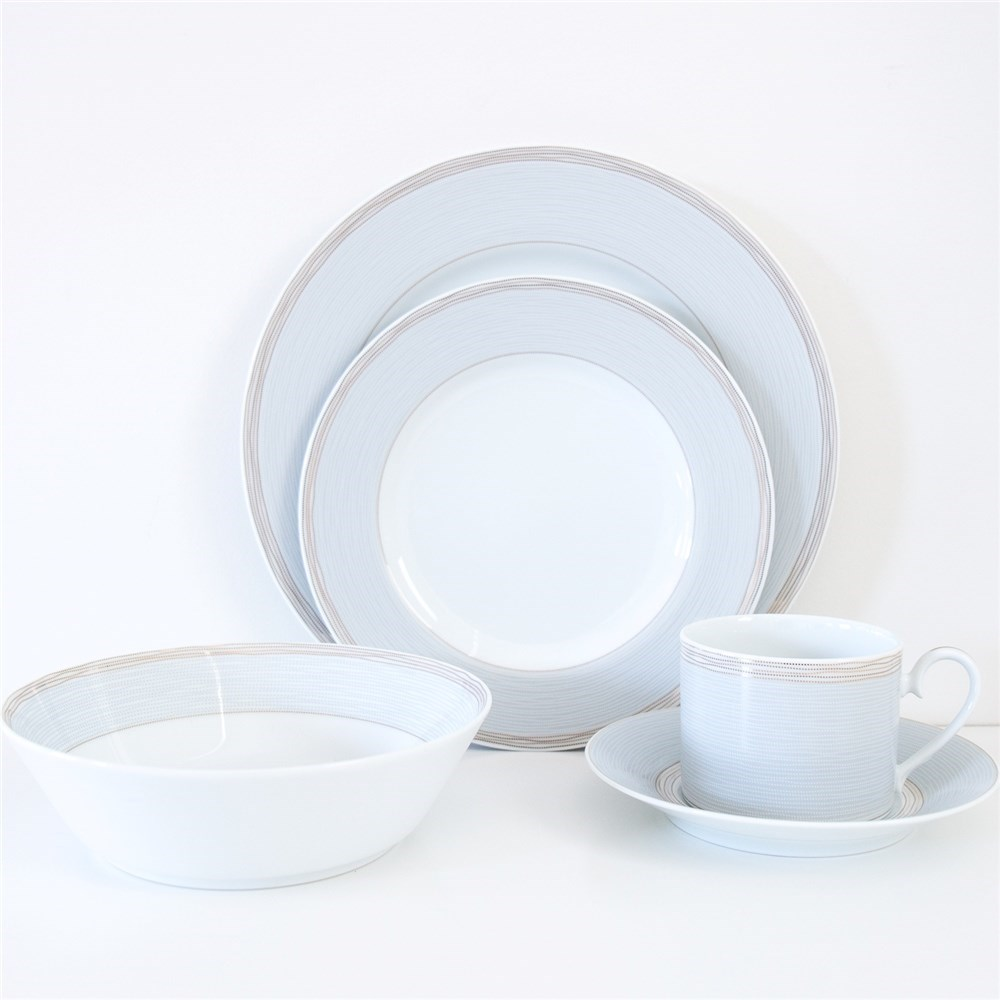 Noritake Linen Road 20 Piece Formal Dinner Setting for 4