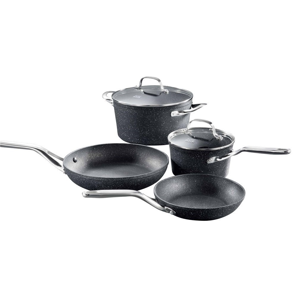 Baccarat Rock 4 Piece Non-Stick Cookware Set