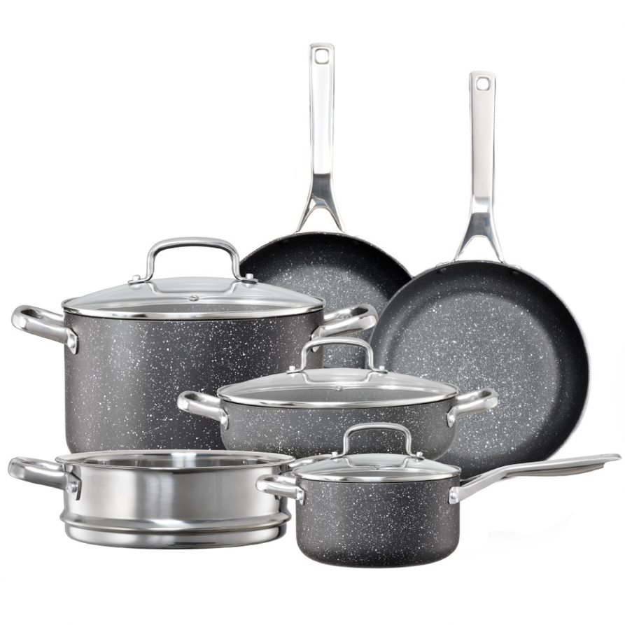 Baccarat Ultimo 6 Piece Non Stick Cookware Set