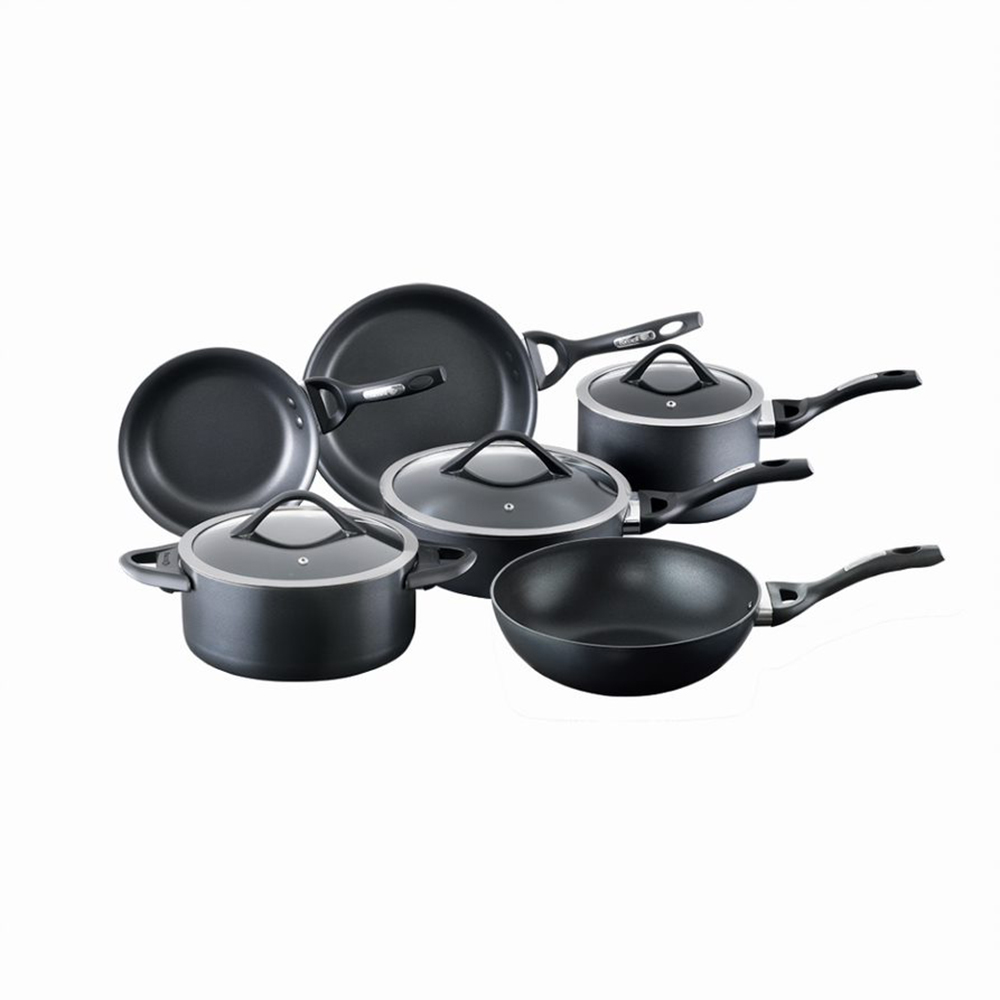 Baccarat iD3 CS 6 Piece Hard Anodised Non Stick Cookware Set