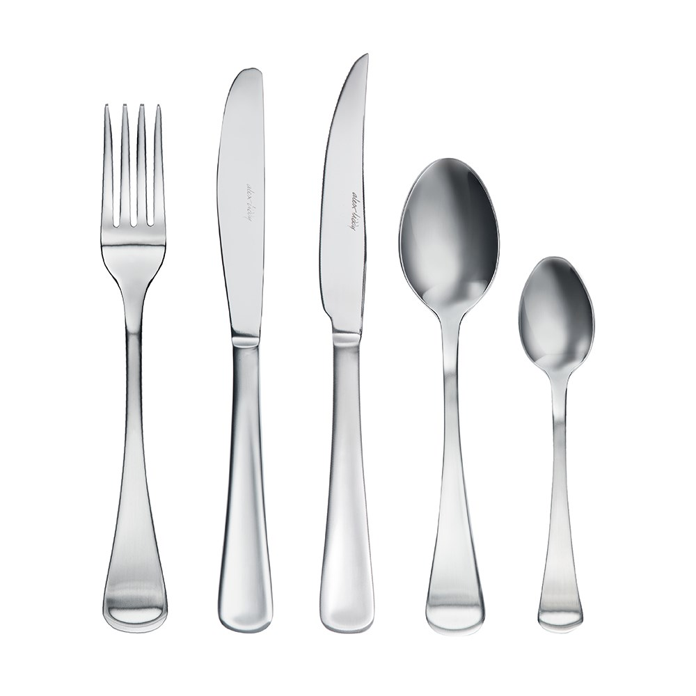 Alex Liddy Castella 40 Piece Stainless Steel Cutlery Set