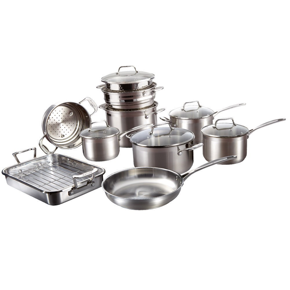 Baccarat iconiX 10 Piece Cookware Set
