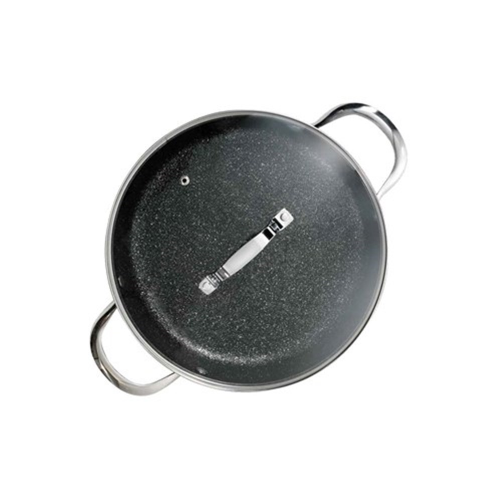 Baccarat Rock Saute Pan with Lid 28cm