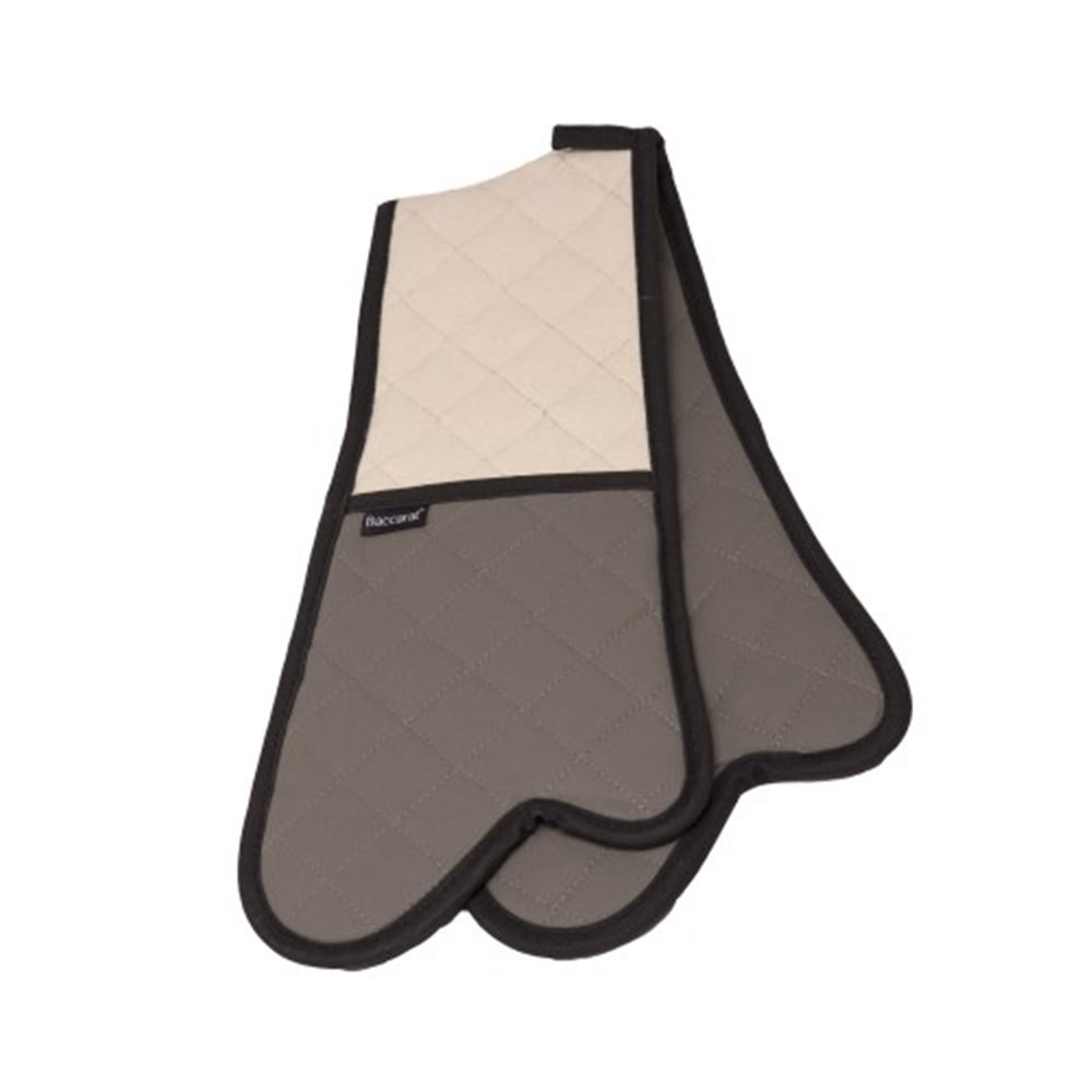 Baccarat Flame Double Oven Glove 87cm