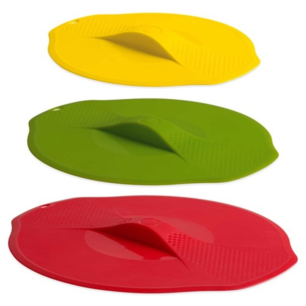 Trudeau Set of 3 Silicone Lids for Bowls