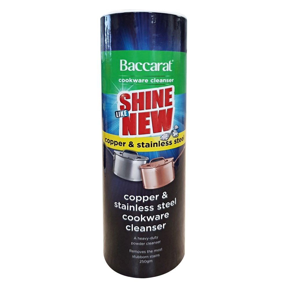 Baccarat Cookware Cleaner Copper & Stainless Steel 250gm