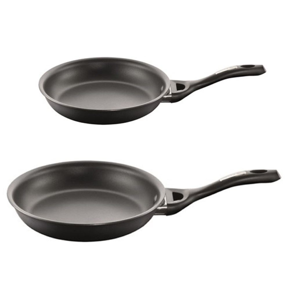 Baccarat iD3 CS Hard Anodised Frypan Twin Pack 20cm & 26cm